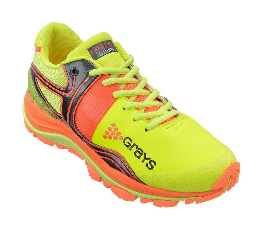GRAYS G11000 Hockey Shoe, Lime, UK12