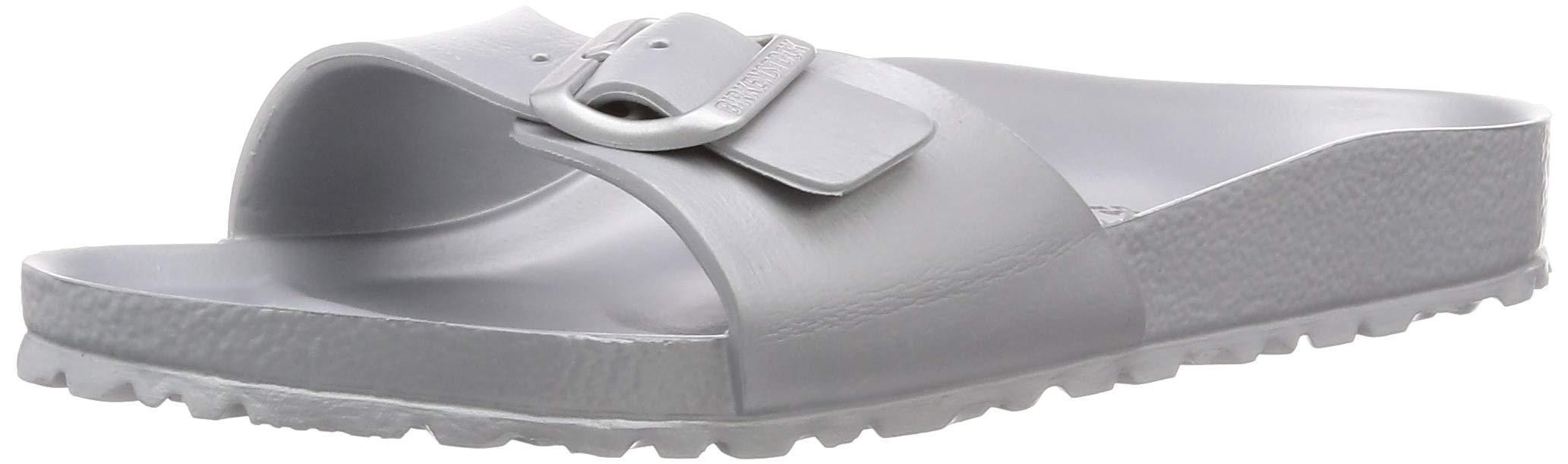 Birkenstock Arizona EVA Metallic Silver EVA Adult Flat Sandals