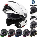V271 BLINC Moto Motocicleta Bluetooth Cascos VCAN Modular ...