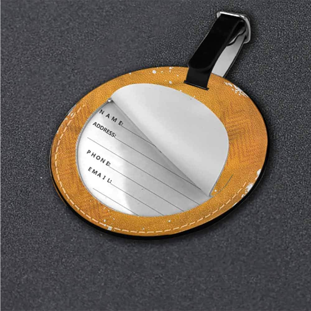 Funky Travel Luggage Tags Basketball,Basketball Players Art Suitcase Labels Bag