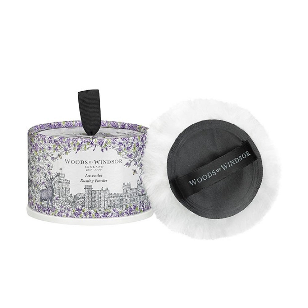 Lavender Perfume by Woods Of Windsor for Women. Body Dusting Powder With Puff 3.5 Oz. 103834377031