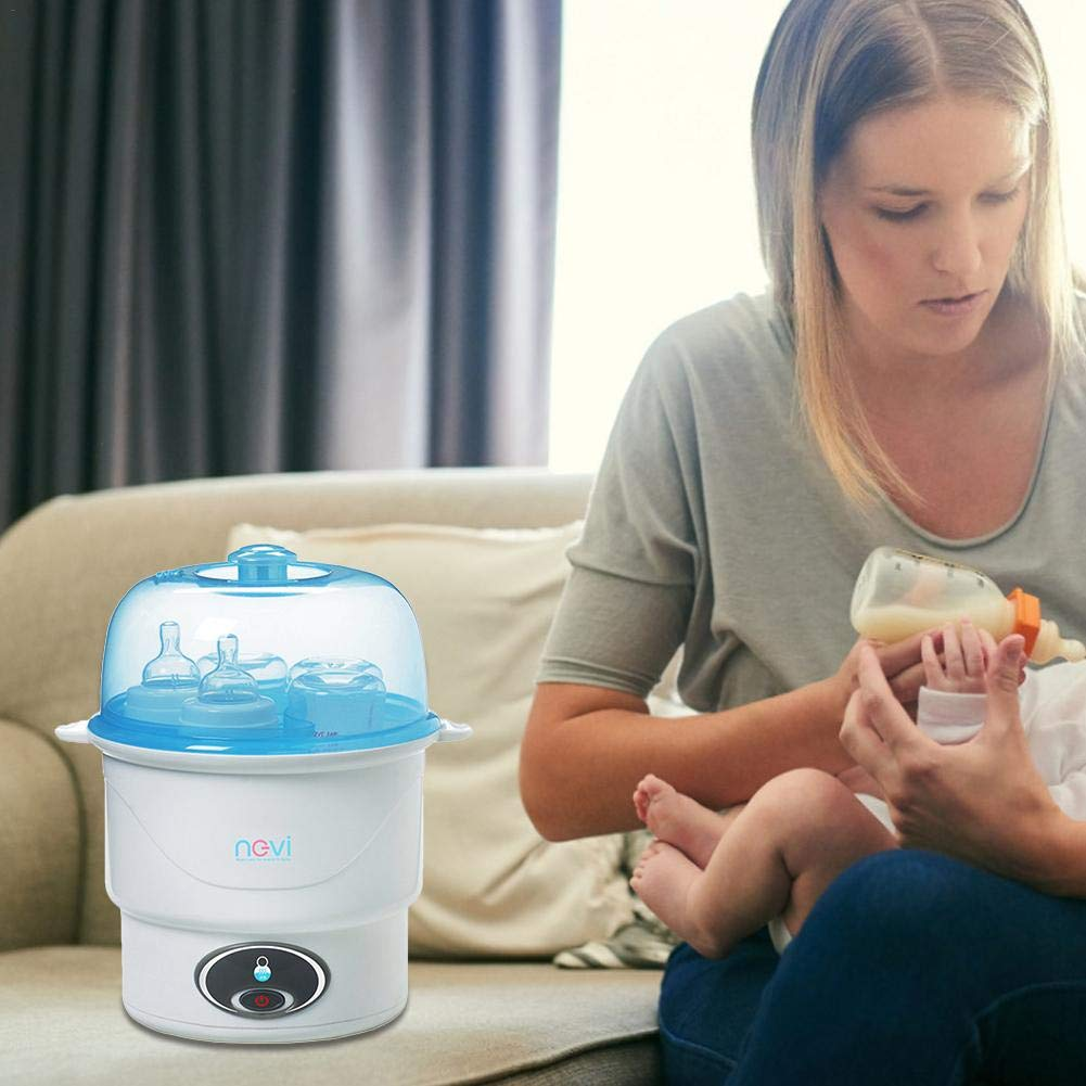 Sue-Supply Baby Bottle Steriliser Steam Sterilisers Baby Electric Steriliser For Various Feeding Bottles,Closer To Nature BPA Free Baby Food