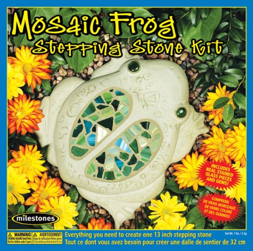 Midwest Products 901-11452 Mosaic Frog Stepping Stone kit