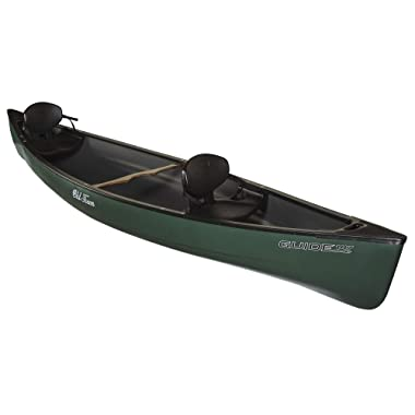 Old Town Guide 147 Recreational Canoe, Green, 14 Feet 7 Inches
