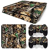MODFREAKZ™ Console and Controller Vinyl Skin Set - Leaf Tree Camo for PS4 Slim