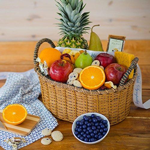 Heartfelt Condolence Fruit Basket - The Fruit Company by The Fruit Company
