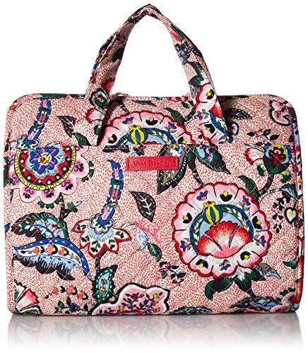 (Vera Bradley womens Iconic Hanging Travel Organizer, Signature Cotton, Stitched Flowers, One Size)