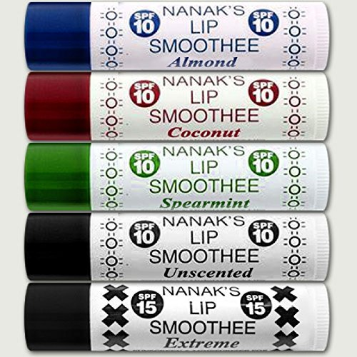 Nanak's Lip Smoothee with SPF 10 - Spearmint - 3 PACK!