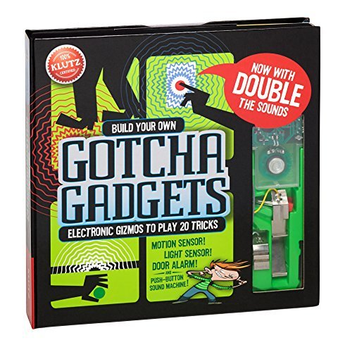 Gotcha Gadgets - Build Your Own Gotcha Gadgets (Klutz) by Anne Akers Johnson (2014-11-06)