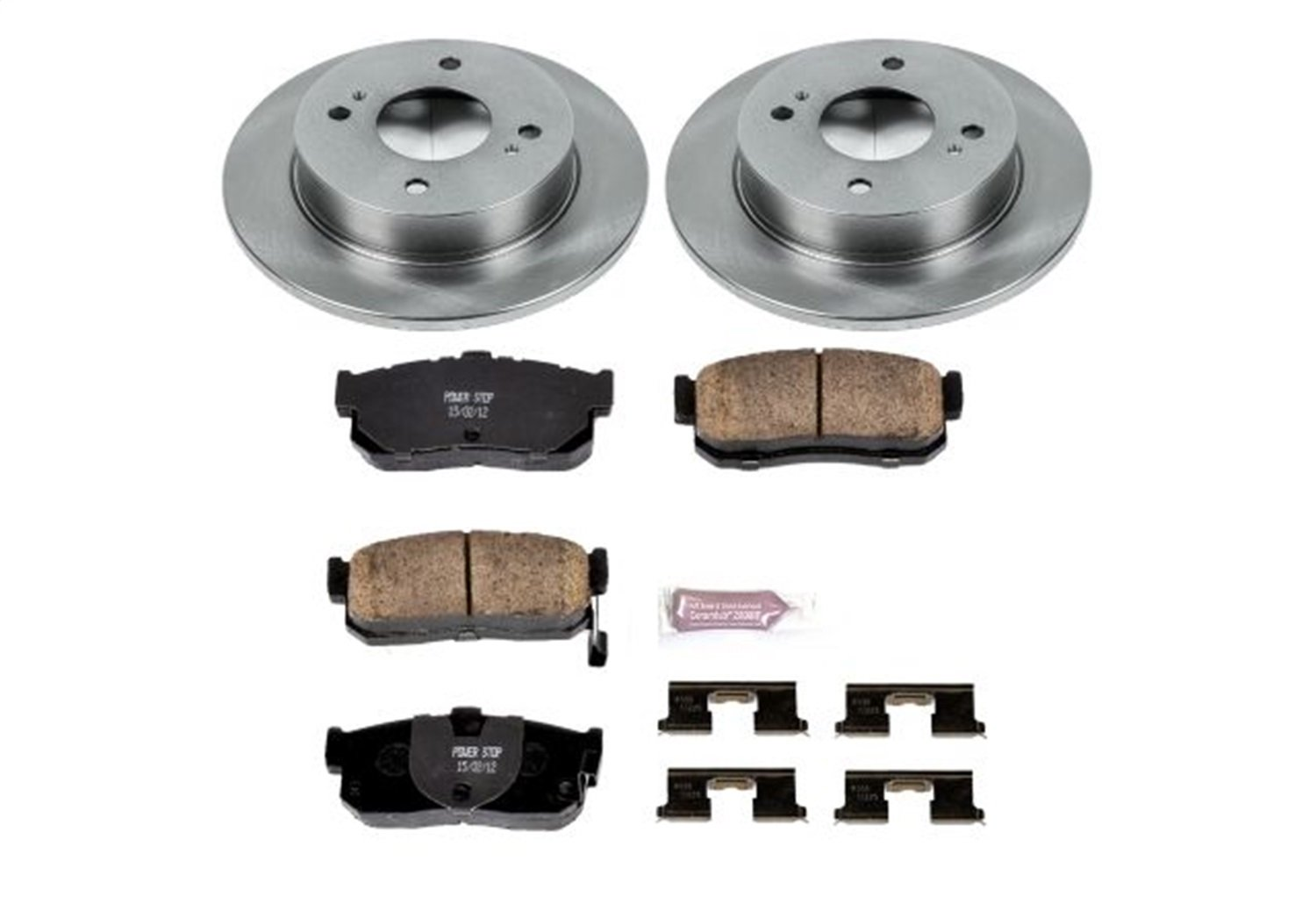 Autospecialty 1-Click OE Replacement Brake Kit KOE740