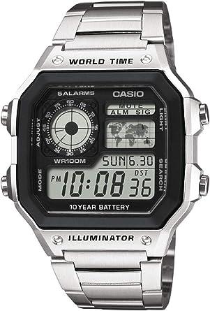 Casio Reloj de Pulsera AE-1200WHD-1AVEF: Amazon.es: Relojes