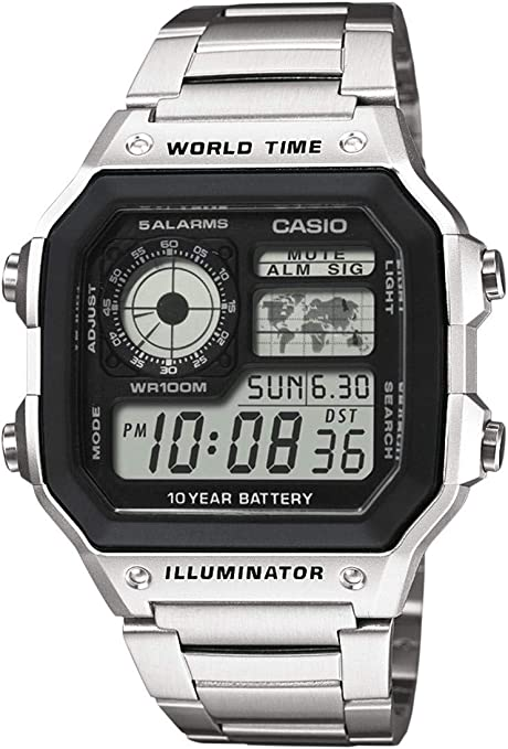Montre Homme Casio Collection AE 1200WH 1AVEF , Achat