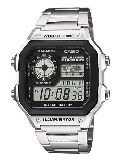 dce547f7f Casio Reloj de Pulsera AE-1200WHD-1AVEF: Amazon.es: Relojes