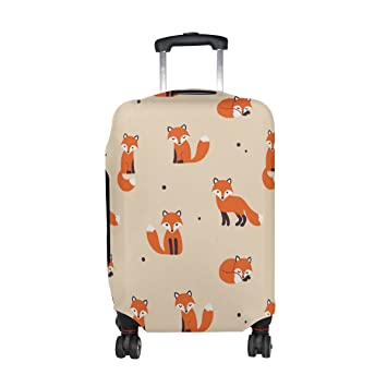 Luggage Protective Covers with Tiger Washable Travel Luggage Cover 18-32 Inch