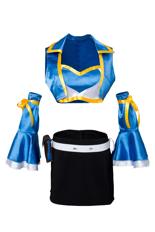 Karnestore Fairy Tail Staffel 2 Lucy Heartfilia Cosplay Kostüm Damen S