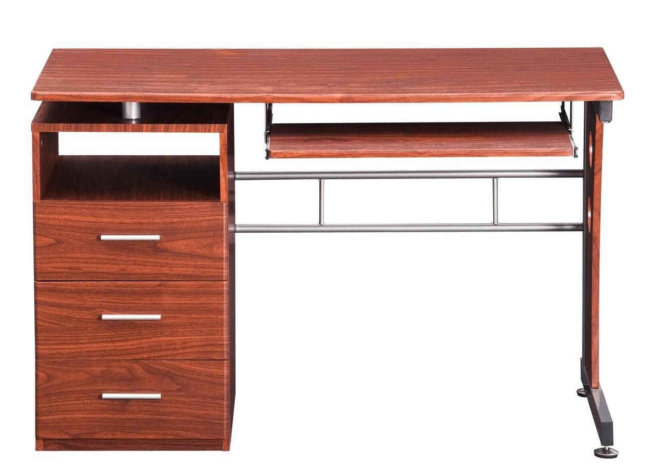 Charmant Amazon.com: Techni Mobili Computer Desk With Storage, Mahogany: Home U0026  Kitchen