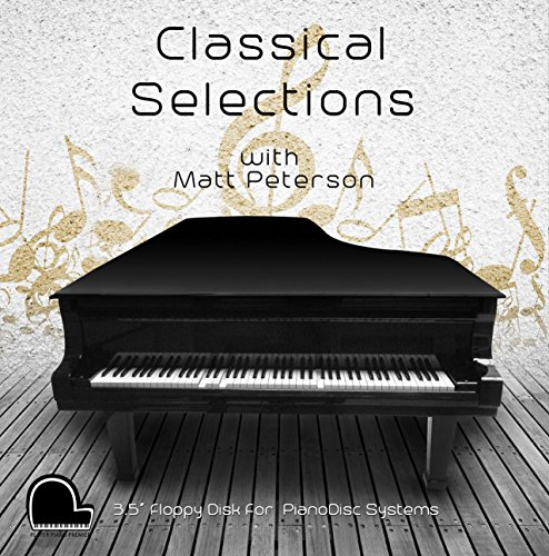 """Classical Selections - PianoDisc Compatible Player Piano Music on 3.5"""" DD 720k Floppy Disk"""