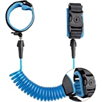 Anti Lost Wrist Link Toddler Harness Leash Kids Child Safety 6.6ft Wristband SkinFriendlywith Lock