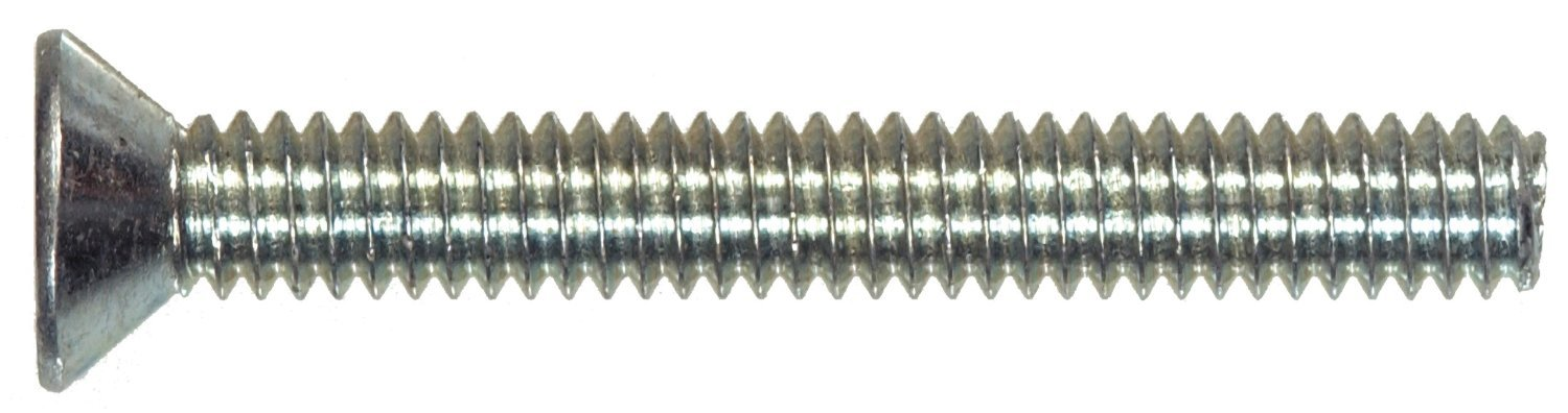 100-Pack The Hillman Group 101019 4-40-Inch x 1//2-Inch Flat Head Phillips Machine Screw