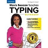 Mavis Beacon Teaches Typing Powered by UltraKey - Family Edition MAC [Download]