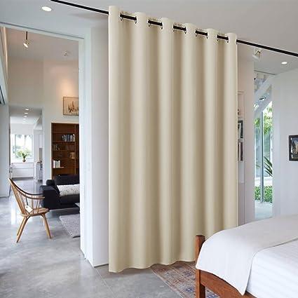 Amazon Com Ryb Home Portable Blackout Room Divider Curtain Extra