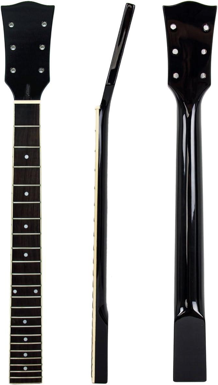Kmise - Repuesto de cuello de guitarra eléctrica en madera de ...