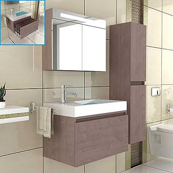 Badmöbel / Waschtischunterschrank / Spiegelschrank ...