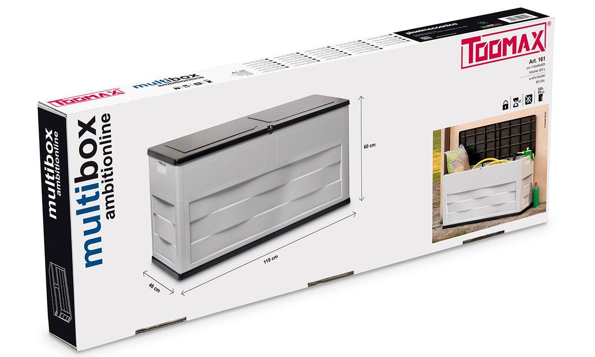 Mehrfarbig Toomax Kissenbox Multibox Ambition Line