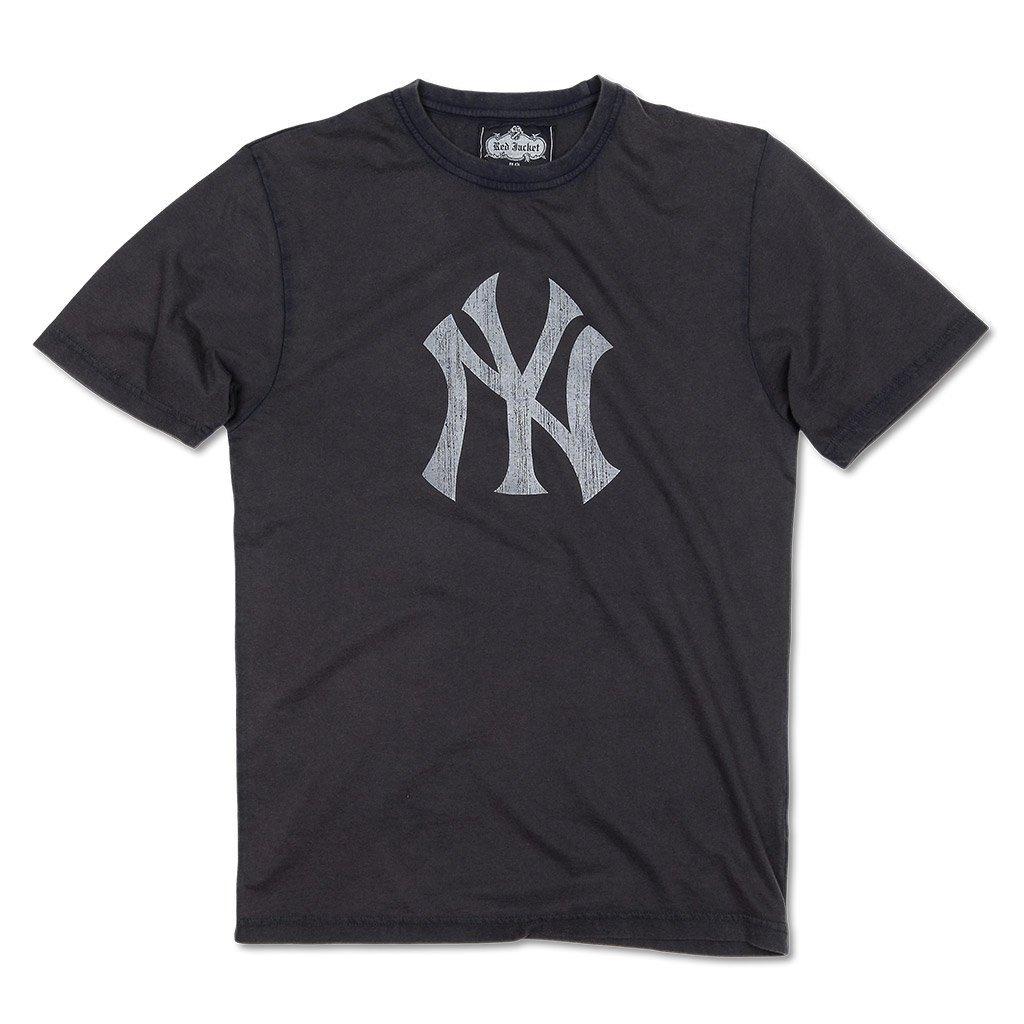 Nueva York Yankees Logo Vintage NY camiseta por chaqueta ...