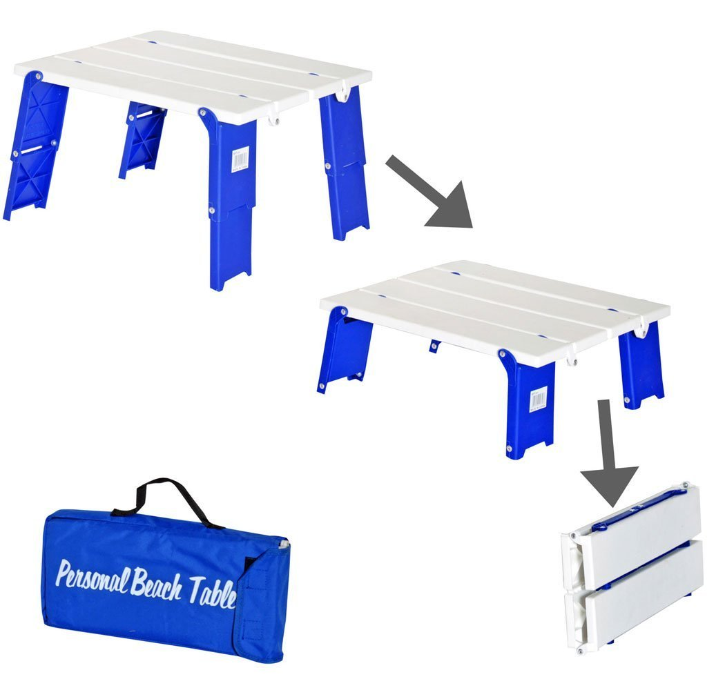 Rio Brands Compact Folding Beach/Camping Table
