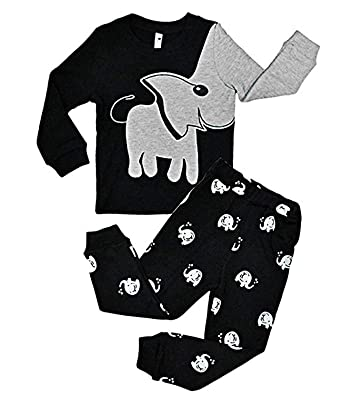 5743417ad7b3 Tarkis Boys Elephant Pjs 2 Piece Kids Pyjamas Sets 100% Cotton ...