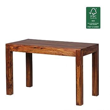 Design Esstisch Holz Massiv 120 X 60 X 76 Cm | Moderner Esszimmertisch  Sheesham Palisander Für