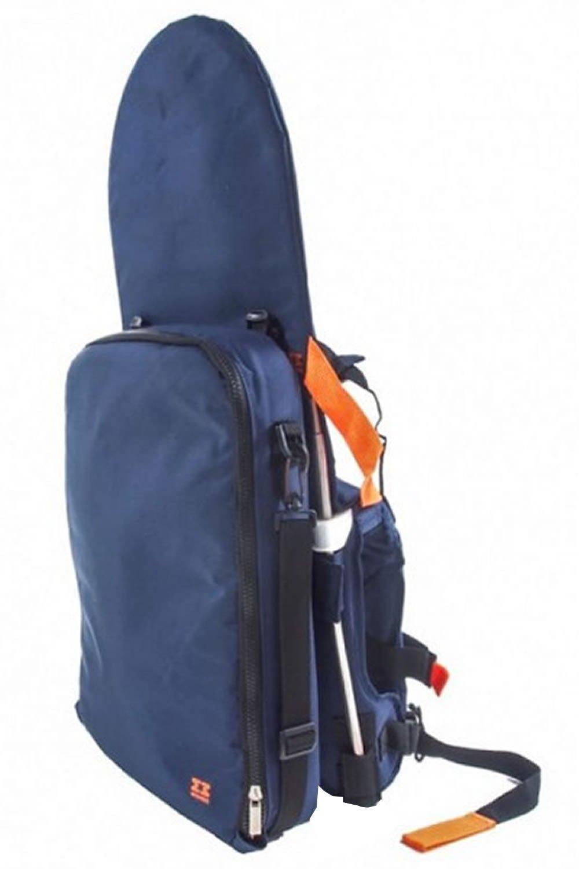 minimeis G2 mochila portabebés ergonómico arnés seguro en exteriores plegable/plegable de hombro acolchada/Back Carrier con cremallera bolsa de ...