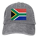 Moonmoon Unisex Flag of South Africa Personal Group Sports Cowboy Cap Peaked Baseball Cap