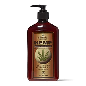 Creative Lab Moist Hemp Bronzing Moisturizer, 18oz