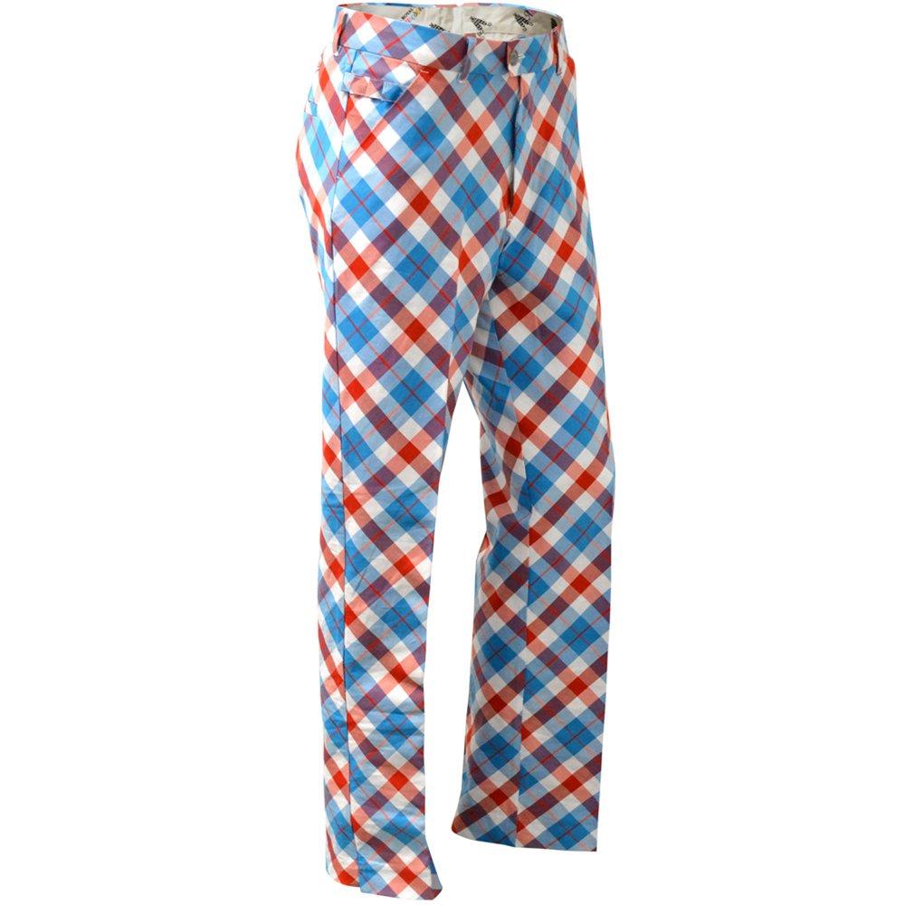 1960s -1970s Men's Clothing Royal & Awesome Mens Golf Pants $74.99 AT vintagedancer.com
