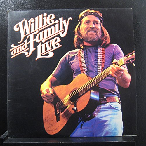 Willie & Family Live by Columbia