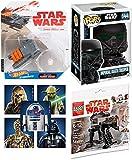 star wars imperial chewbacca - AYB Products Imperial Death Trooper Figure + Combat Assault Tank / Buildable First Order Walker & Star Wars Vinyl Pop! #144 Rogue One + Bonus Sticker Bundle