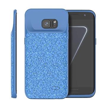 FAMOBIE Compatible con Funda Batería para Samsung Galaxy S7 ...