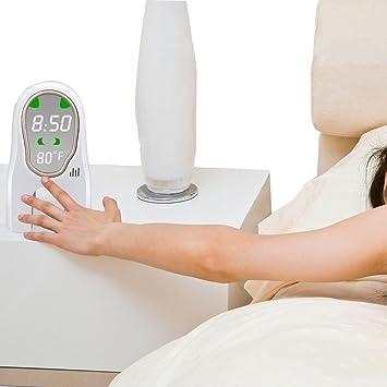 Inteligente Música digital Despertador Despertador Luz LED ...