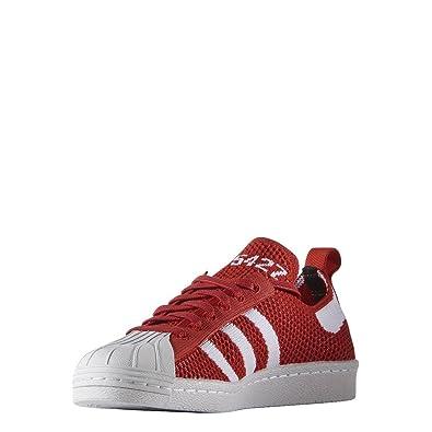 adidas superstar 80s primeknit red