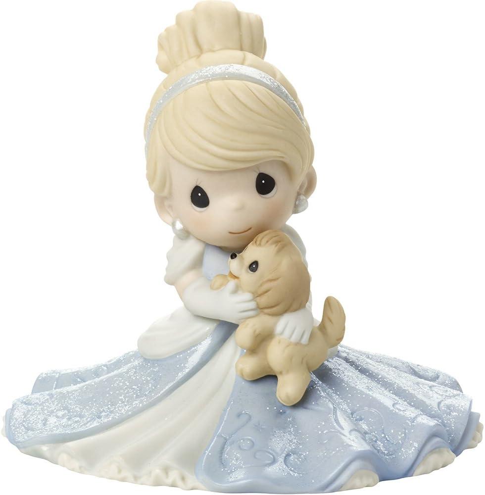 Precious Moments, Disney Showcase Cinderella Figurine, A Friend Fit For A Princess, Porcelain, #171095
