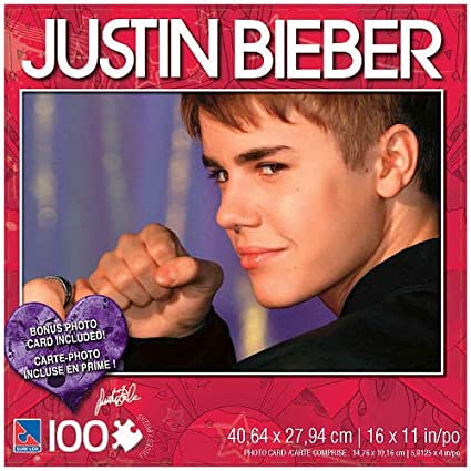 Justin Bieber  Piece Jigsaw Puzzle Justin With Fist