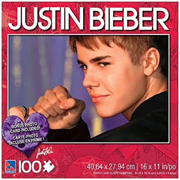 Perfect Justin Bieber 100 Piece Jigsaw Puzzle Justin With Fist Home Design Ideas