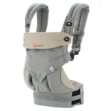 e545e2d7297 Ergobaby 360 All Carry Positions Award Winning Ergonomic Baby Carrier (Grey)