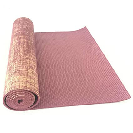 SUZHENAColchoneta de yogaAlfombrilla de Yoga de Yute ...