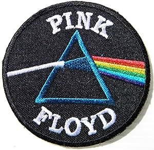 Rosa Floyd Rock Punk Music Band logotipo de marca Sew iron on bordado Appliques