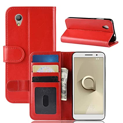 Vodafone Smart E9 Shockproof Pu Leather Wallet Flip Stand Magnetic Case Cover Cell Phone Accessories Cases, Covers & Skins