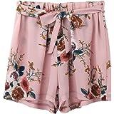 friendGG Bedruckte Damen Taillen Damen Shorts,Damen Kurze Hosen Hotpants  Sommer Casual Shorts High Waist bf5761175b