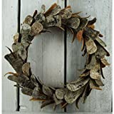 Gainsborough Giftware Birch Bark Wreath (One Size) (Brown)